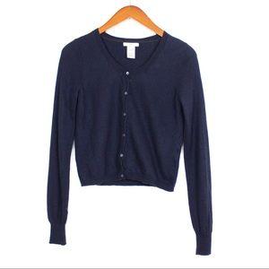 GAP Cashmere Long Sleeve Button Down Cardigan